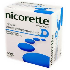tabletki z nikotyną